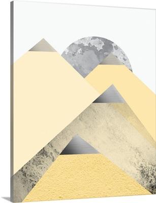 Yellow and Grey Mountains II