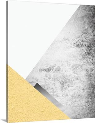 Yellow and Grey Mountains III