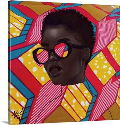 Pattern In Glasses