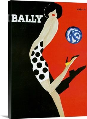 1980's France Bally Poster