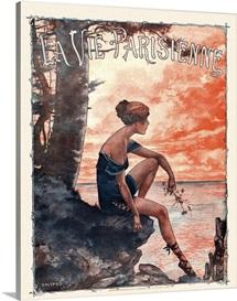France La Vie Parisienne Magazine Cover