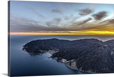 Santa Catalina Island at Sunset