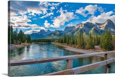 Bridge in Canmore, Canada