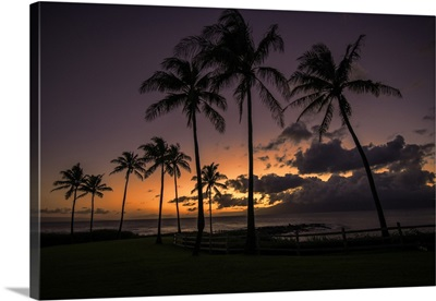 Sunset at Kapalua #1