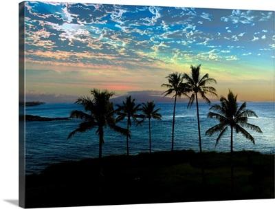 Sunset near Kapalua Bay