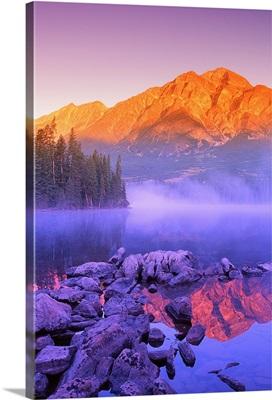 A Beautiful Lake, Jasper, Alberta, Canada