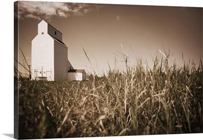 A Grain Elevator, Alberta, Canada