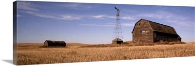 Abandoned Barn, Outside Saskatoon, Saskatchewan, Canada