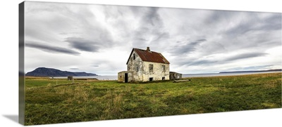 Abandoned house in rural Iceland; Iceland