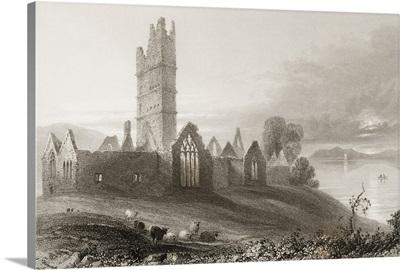 Abbey Of Moyne, Killala, County Mayo, Ireland