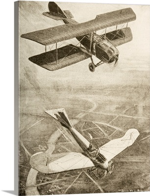Aerial Duel On The Western Front