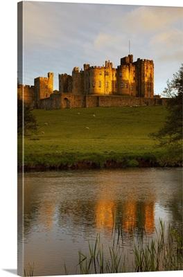 Alnwick Castle; Alnwick, Northumberland, England