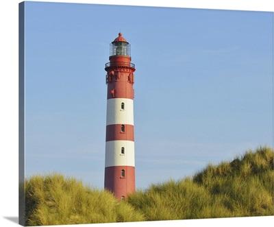 Amrum Lighthouse, Wittdun, Amrum, Schleswig-Holstein, Germany