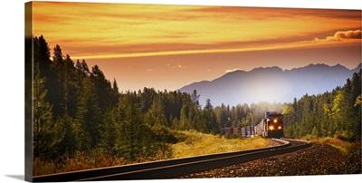 An Oncoming Train