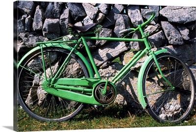 Aran Islands, Co Galway, Ireland; Bicycle
