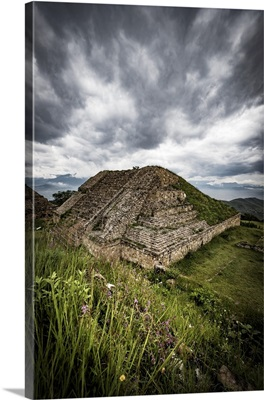 Archaeological Zone Of Monte Alban, Monte Alban, Oaxaca, Mexico