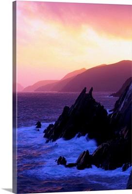 Atlantic Coast on Dingle Peninsula, County Kerry, Ireland