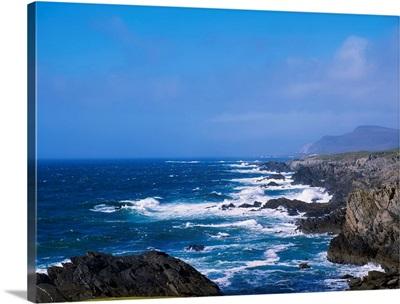 Atlantic Ocean, Achill Island, Looking Towards Keel, Co Mayo, Ireland