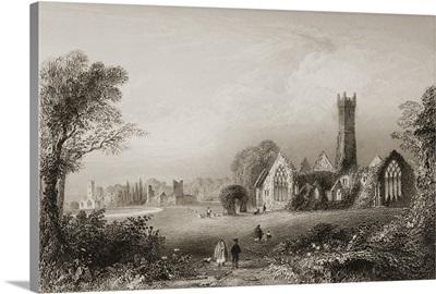 Augustinian Abbey, Adare, Ireland