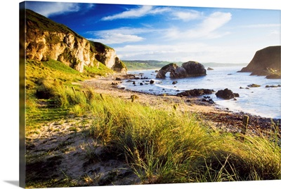 Ballintoy, County Antrim, Ireland; Beach Scenic