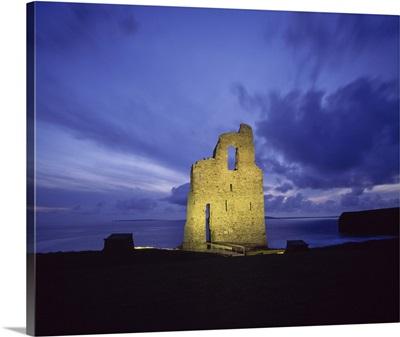 Ballybunion Castle, County Kerry, Ireland
