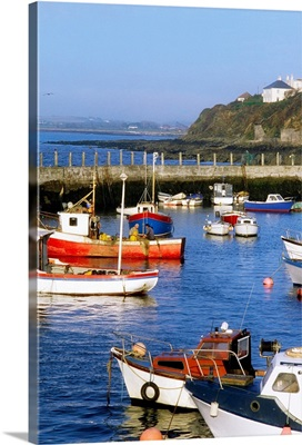 Ballycotton, Co Cork, Ireland, Harbour Of A Fishing Village