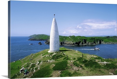 Baltimore Beacon, County Cork, Ireland, Lighthouse Also Known As Lot's Wife