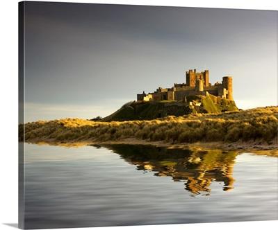 Bamburgh Castle; Bamborough, Northumberland, England
