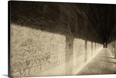 Bas-Reliefs Of Hindu Myths At Angkor Wat, Angkor, Cambodia