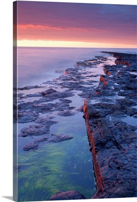 Bay At Sunset, Killala Bay, County Sligo, Ireland