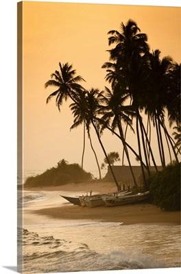 Beach At Ambalangoda, Galle District, Sri Lanka