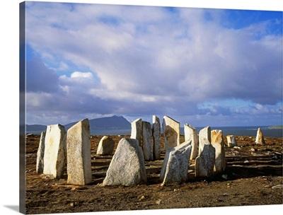 Blacksod Point, Co Mayo, Ireland; Stone Circle