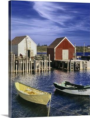Blue Rocks Harbour, Blue Rocks, Nova Scotia, Canada