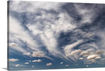 Blue sky with cloud, Palouse, Washington, United States of America