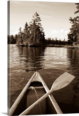 Boat On The Water, Lake Of The Woods, Ontario, Canada