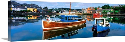 Boats in a Harbour, Kinsale, County Cork, Ireland