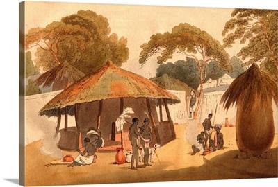 Booshuana Village, Southern African Village