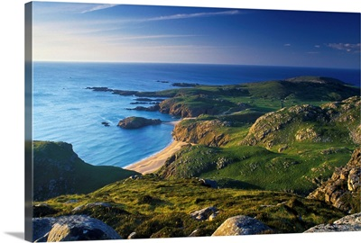 Boyeeghter Strand And Melmore Head, County Donegal, Ireland