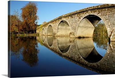 Bridge Over River Nore; Bennettsbridge, County Kilkenny, Ireland