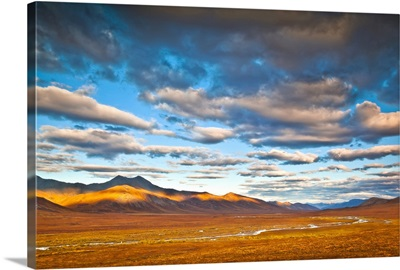 Brooks Range with the Chandalar River, Gates of The Arctic, Alaska