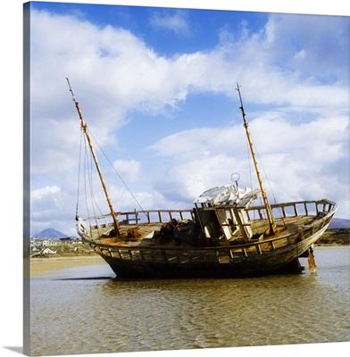 Bunbeg, County Donegal, Ireland, Shipwreck