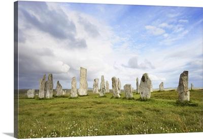 Callanish Stones, Callanish, Isle Of Lewis, Outer Hebrides, Scotland