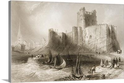 Carrickfergus Castle, County Antrim, Ireland