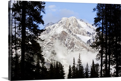Cascade Mountains In Banff National Park, Alberta, Canada
