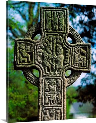 Castledermot, Co Kildare, Ireland; North Cross High Cross