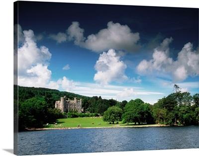 Castlewellan Castle and Lake, County Down, Ireland