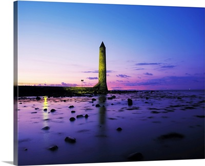Chaine Memorial Tower, Larne Harbour, Larne, County Antrim, Ireland