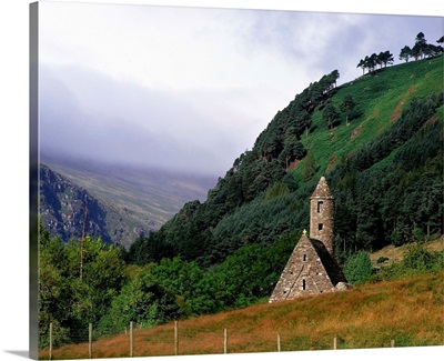 Chapel Of Saint Kevin At Glendalough, Ireland