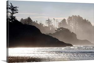 Chesterman S Beach Tofino Vancouver Island British