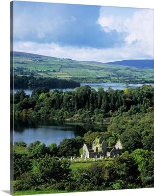 Church On A Landscape, Ballindoon, County Sligo, Republic Of Ireland